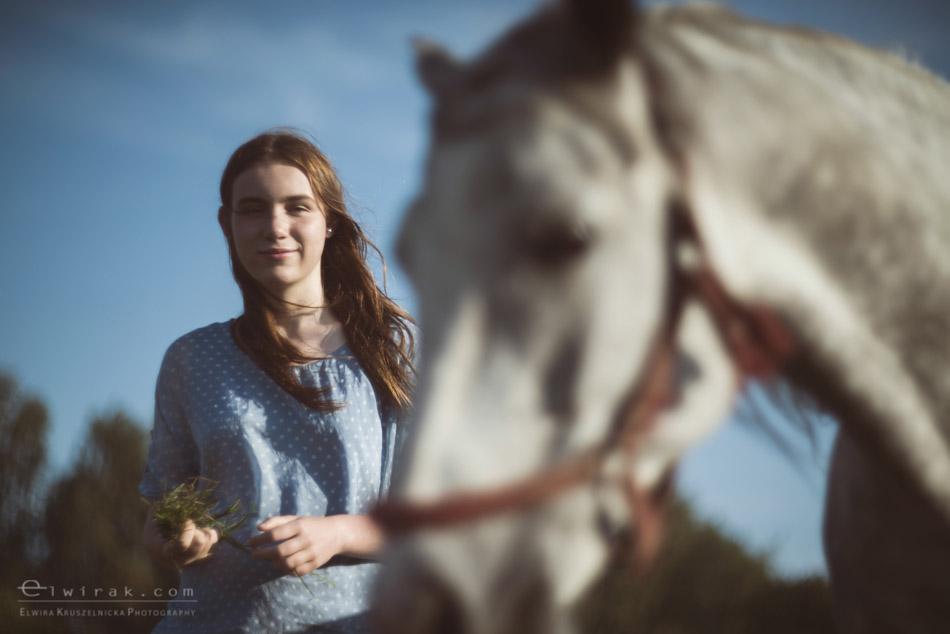 6 sesja fotograficzna plener konie Trojmiasto