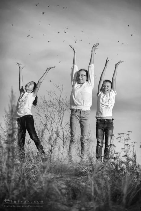 8 sesja fotograficzna rodzinna spacer reportaz