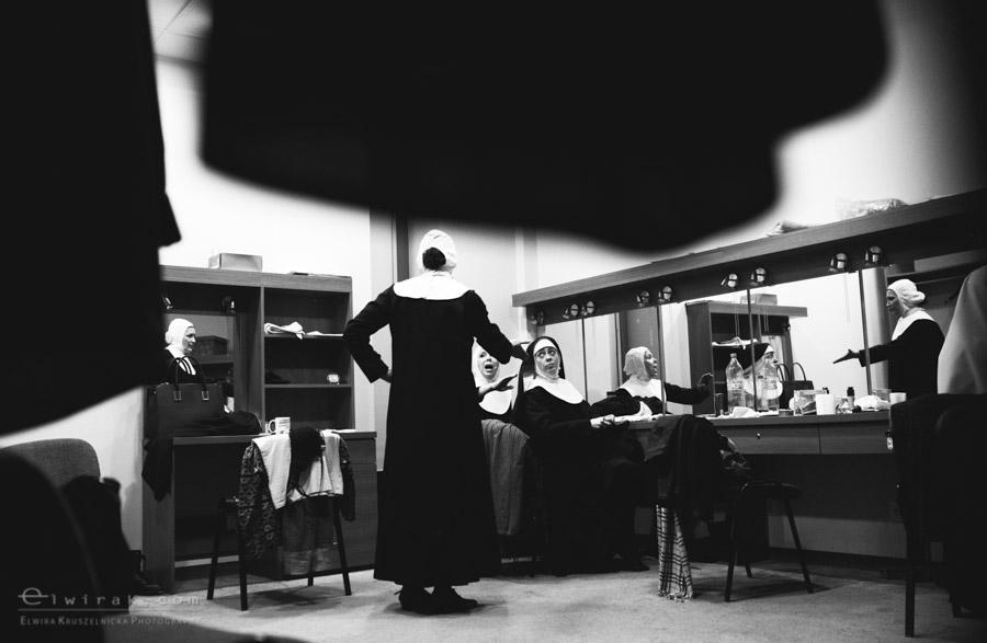 80 teatr muzyczny aktorka garderoba reportaz
