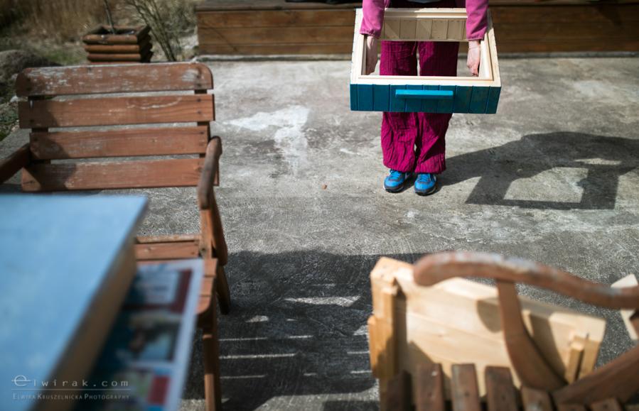 14 wiosna kobiety nogi na wsi