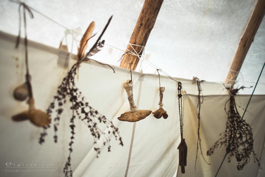 08 tipi zima szaman kaszuby Gdynia magia