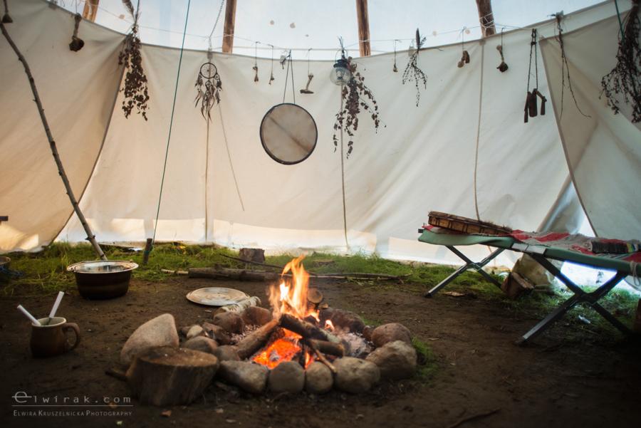 16 tipi zima szaman kaszuby Gdynia magia