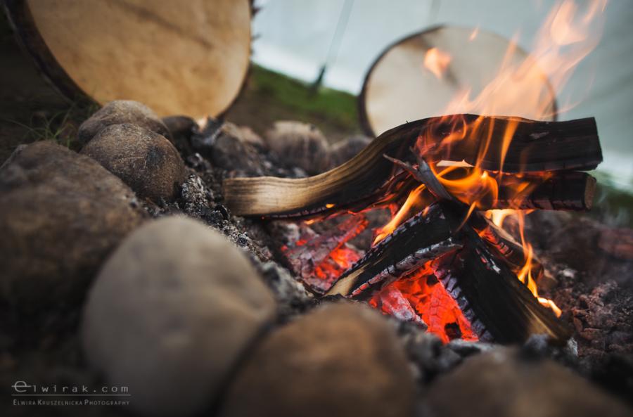 17 tipi zima szaman kaszuby Gdynia magia