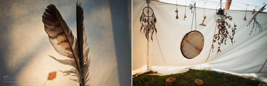 20 tipi zima szaman kaszuby Gdynia magia