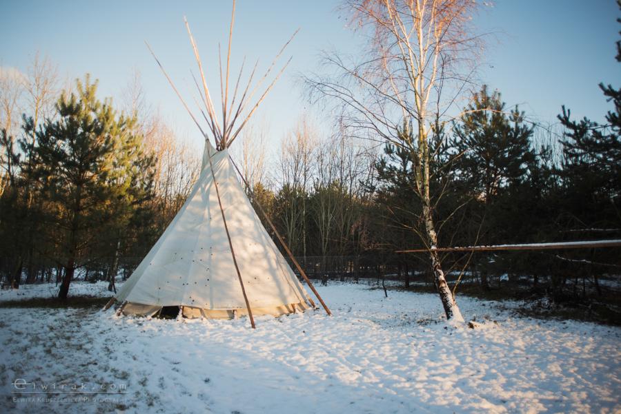 23 tipi zima szaman kaszuby Gdynia magia