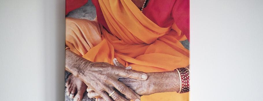 Zdjęcia z Indii na płótnie