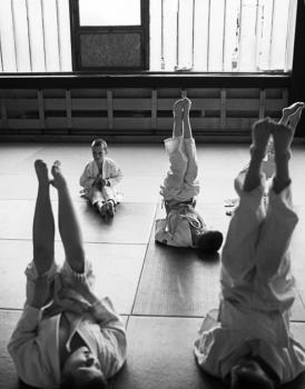 Młodzi judocy