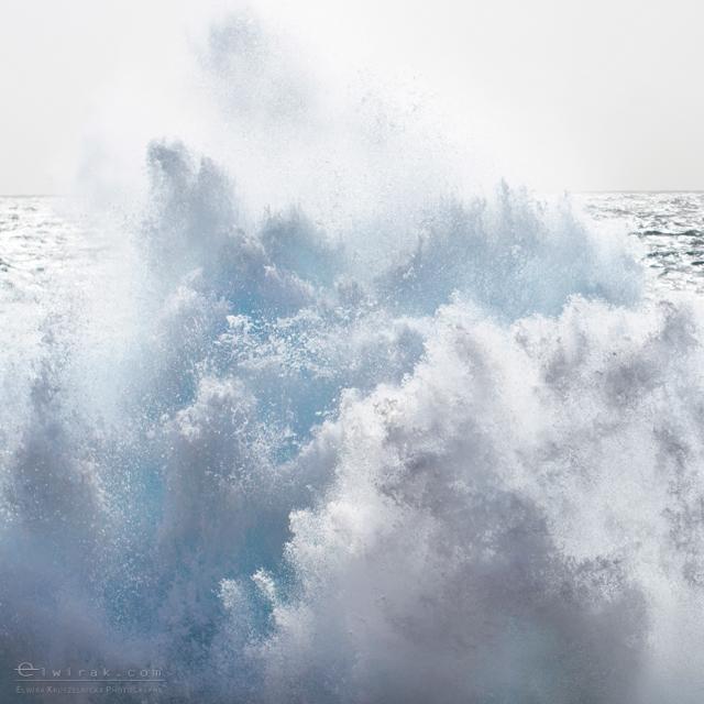 Morze Srodziemne Fale Blekit wydruki art sea (1)