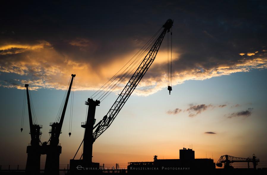 stocznia port Gdynia zdjecie tapeta