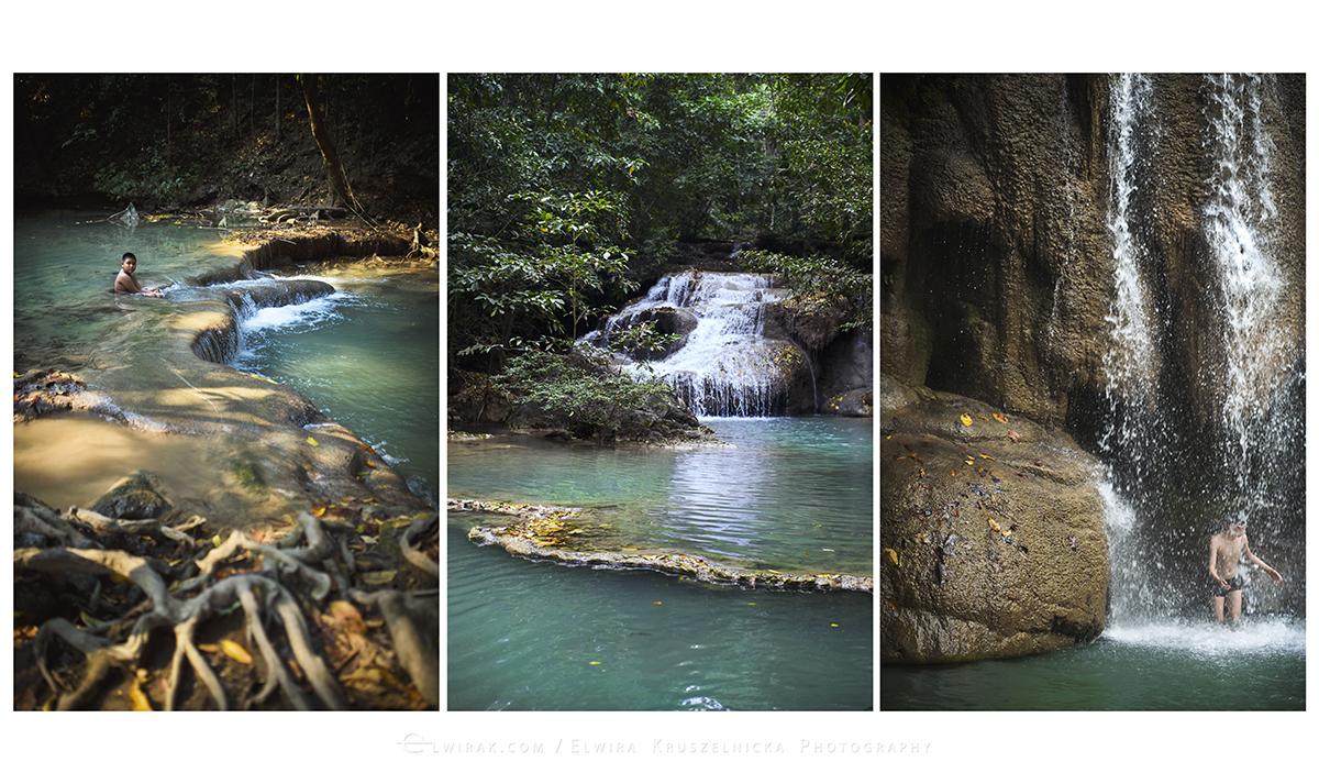 tryptyk wodospad Tajlandia 1200m