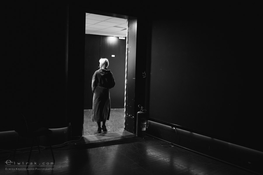 70 teatr muzyczny aktorka garderoba reportaz