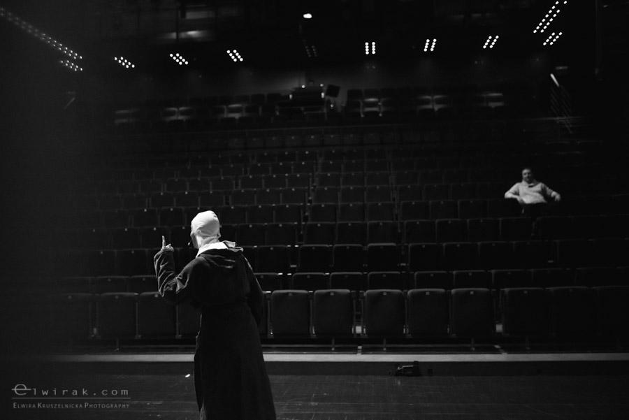 74 teatr muzyczny aktorka garderoba reportaz