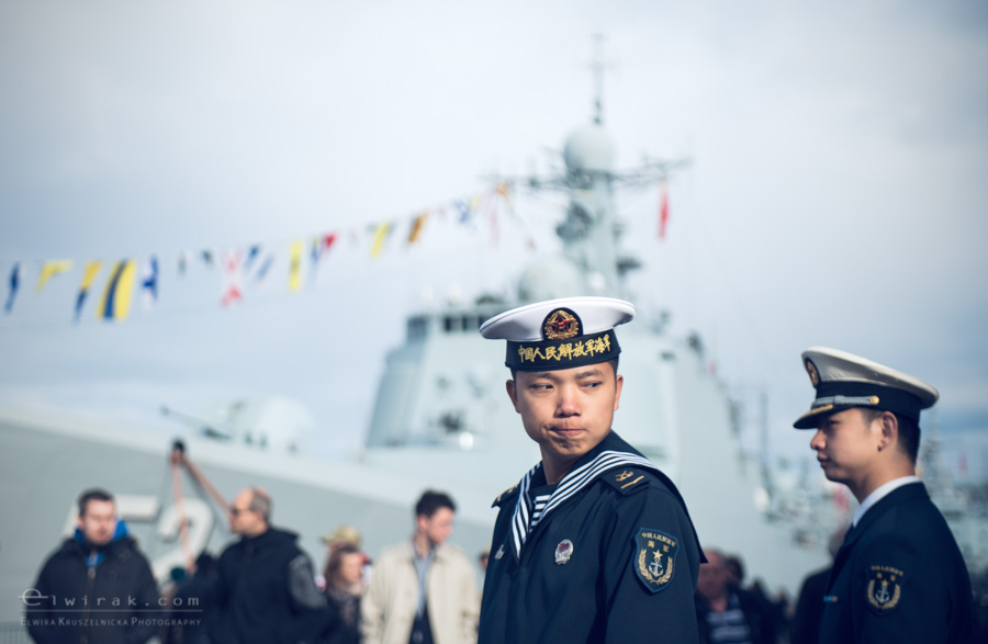 02 Gdynia okrety chinskiej armii wojskowe