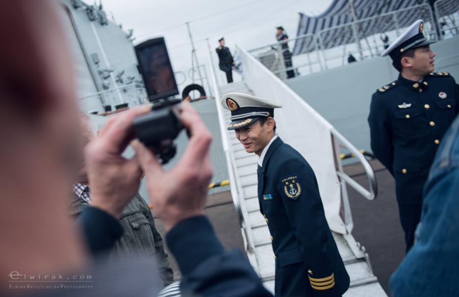 06 Gdynia okrety chinskiej armii wojskowe
