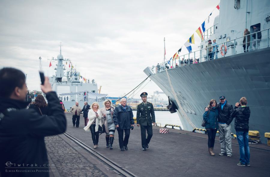 08 Gdynia okrety chinskiej armii wojskowe
