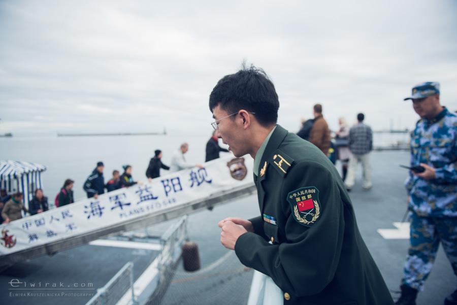 10 Gdynia okrety chinskiej armii wojskowe