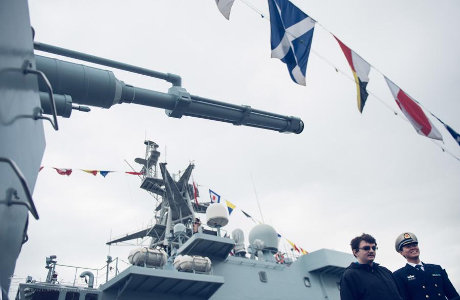 14 Gdynia okrety chinskiej armii wojskowe
