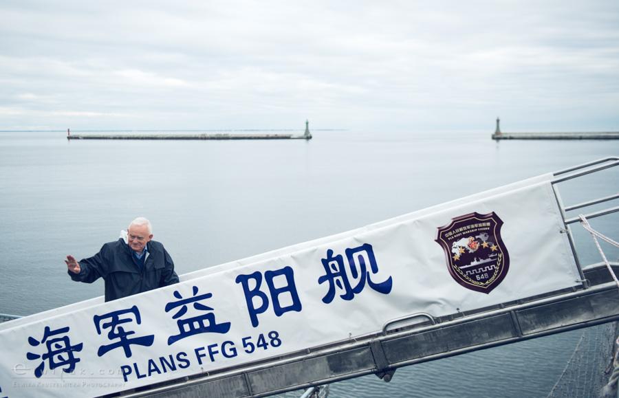 16 Gdynia okrety chinskiej armii wojskowe