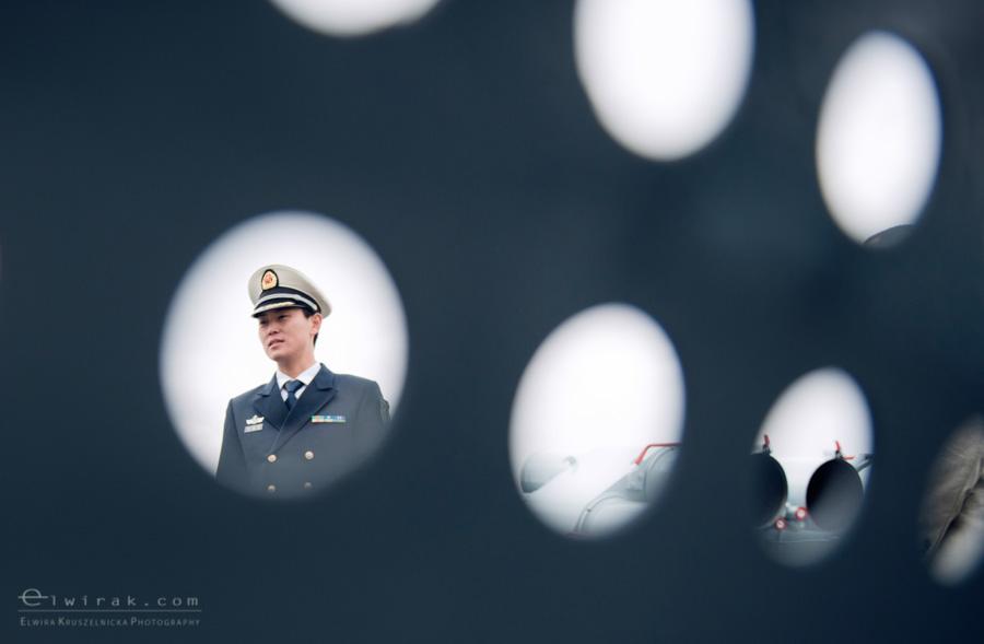 25 Gdynia okrety chinskiej armii wojskowe
