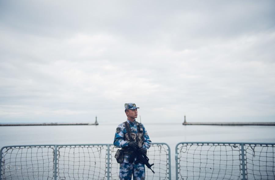 29 Gdynia okrety chinskiej armii wojskowe
